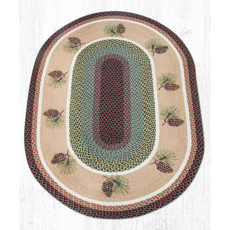 Pinecone Oval Patch 5 Ft. by 8 Ft.