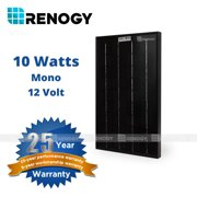 Renogy 10Watts Mono Solar Panel Off Grid 12 Volt 12V RV Boat Battery Charger