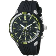 Men's On The Go PT3503 Black Analog Chronograph Watch