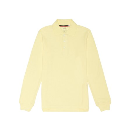 Long Sleeve Pique Polo Shirt (Toddler Boys)