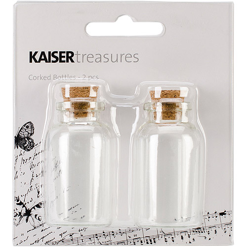 Kaiser Craft Treasures Corked Bottle