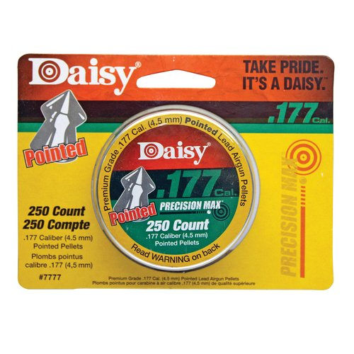 Daisy Ammunition and CO2 7777 .177 Cal. Pointed Pellets 250 Tin