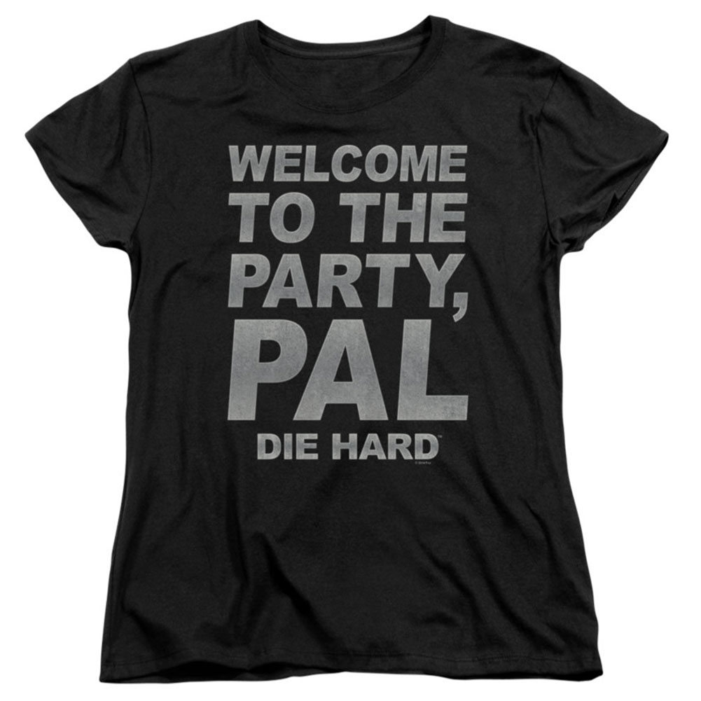 Die Hard  Party Pal Girls Jr Black