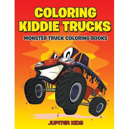 Coloring Kiddie Trucks : Monster Truck Coloring Books