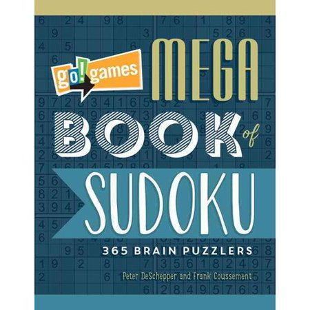 Go! Games Mega Book of Sudoku: 365 Brain Puzzlers
