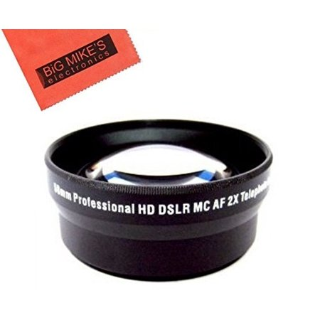 52mm 2X Telephoto Lens For Nikon DF, D90, D3000, D3100, D3200, D3300, D5000, D5100, D5200, D5300, D5500, D7000, D7100, D300, D300s, D600, D610, D700, D750, D800, D810 Digital SLR Cameras Which
