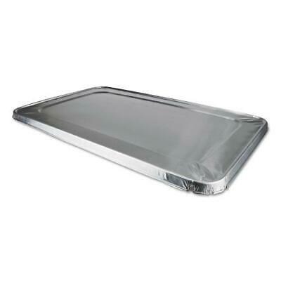 Edge Foil (Foil Lids, 12 7/8w x 5/8d, Safety Edge, Silver, 50/Carton)