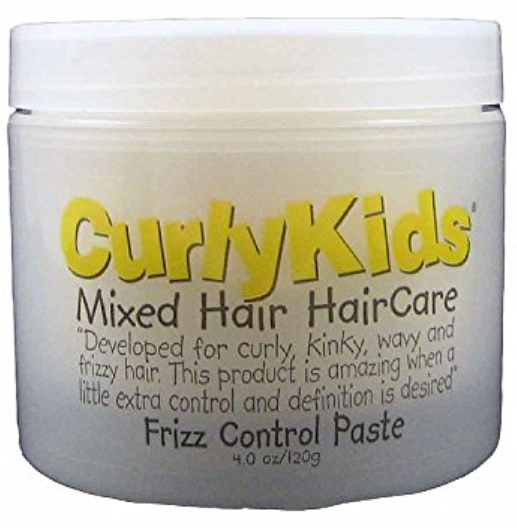 Curly Kids Frizz Control Paste, 4 oz (Pack of 3)