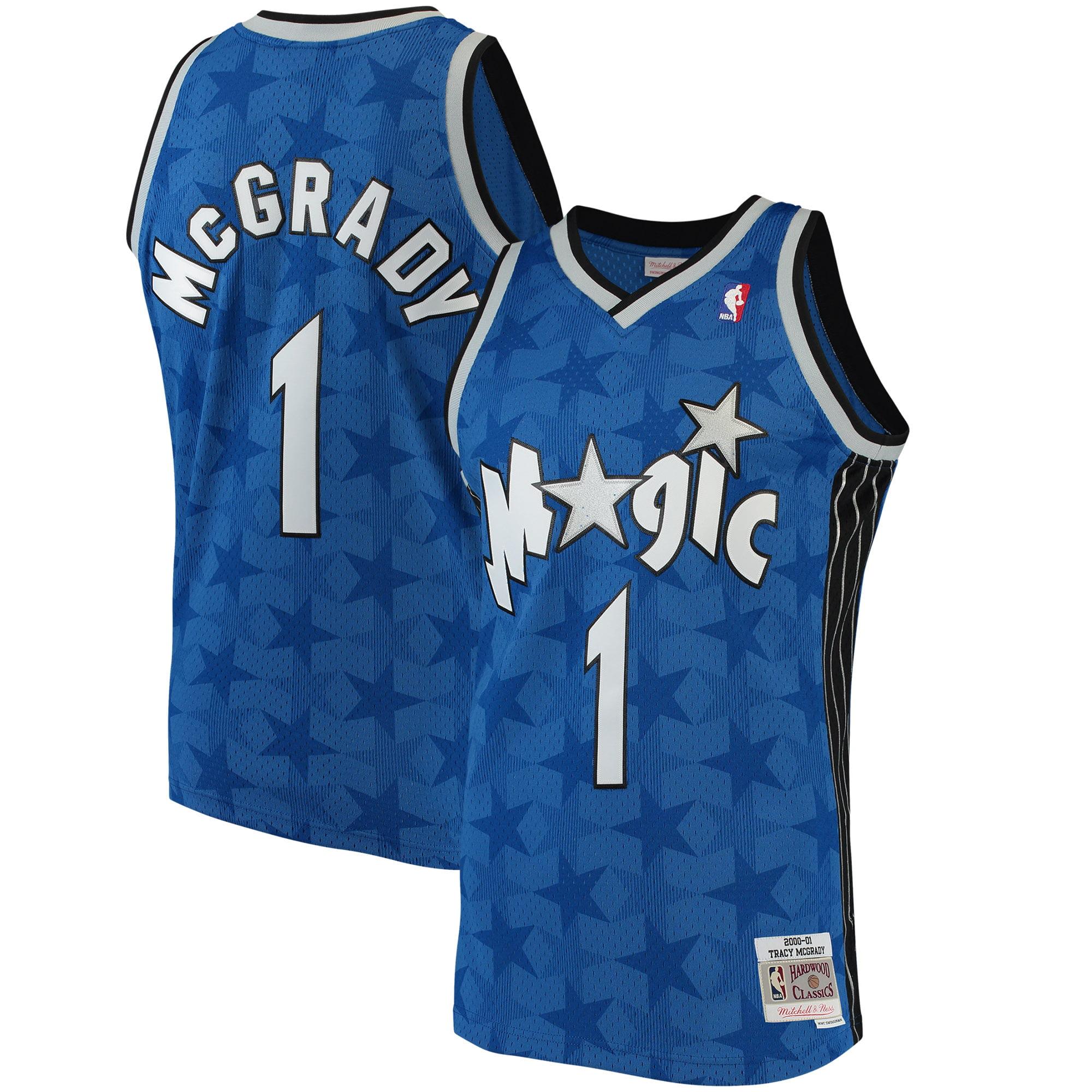 Tracy McGrady Orlando Magic Mitchell & Ness 2001-02 Hardwood Classics Swingman Jersey - Blue