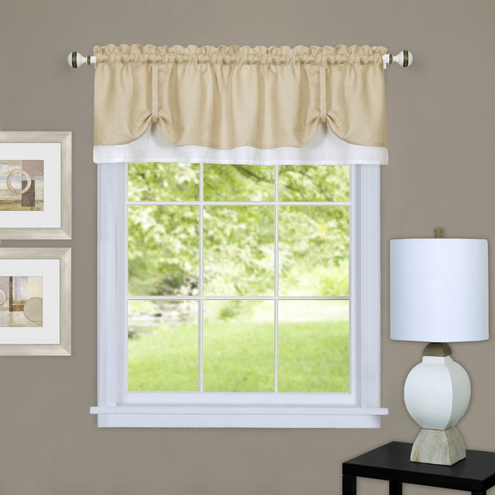 Click here to buy Darcy Window Curtain Valance 58x14 by Achim Importing Co. Inc.