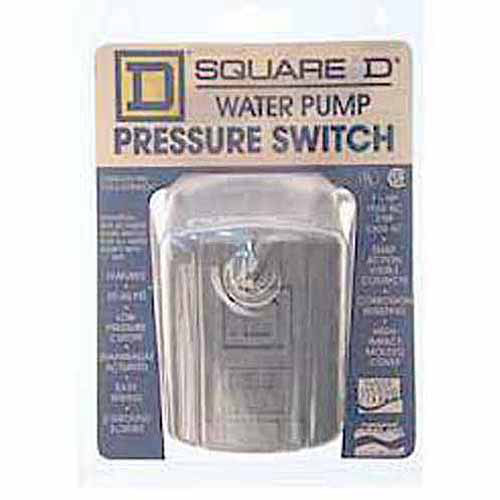 Schneider Electric Square D FSG2J20M4CP 20 to 40 PSI Water Pump Low Pressure Cutoff Switch
