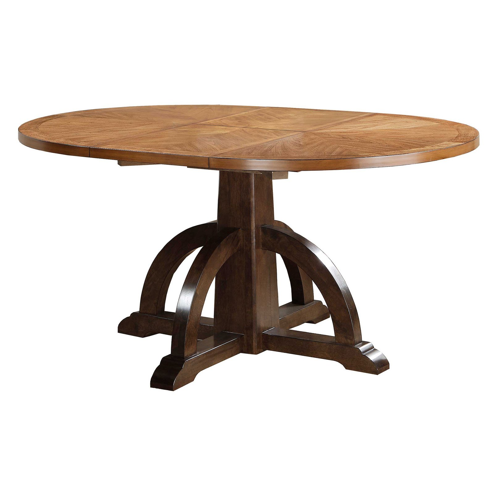 Winners Only 66 in. Pedestal Dining Table with Butterfly Leaf