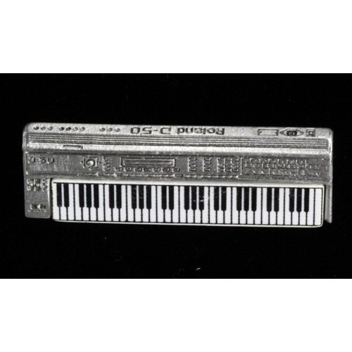 Harmony Jewelry Roland Synth Pin in Pewter