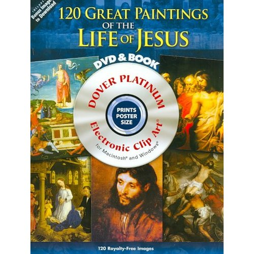 120 Great Paintings of the Life of Jesus