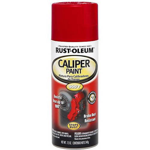 Red Rust Oleum Automotive Caliper Gloss Spray Paint 12 Oz Walmart Com Walmart Com