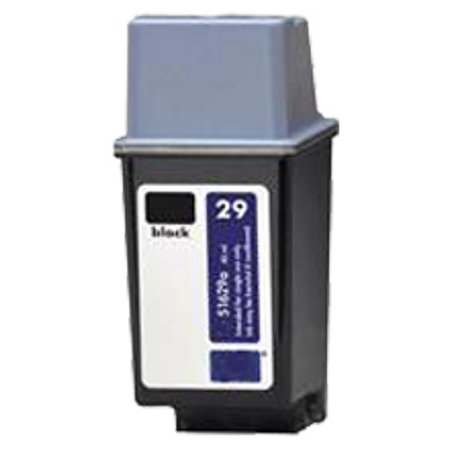 HP 51629A (29A) INK / INKJET Cartridge Black for HP DeskJet 694C - image 1 de 1