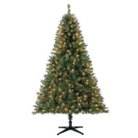 product image holiday time 65ft pre lit windham pine artificial christmas tree with 350 clear lights