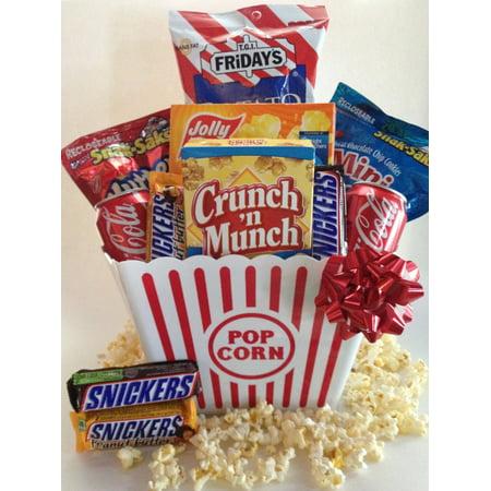 Popcorn Gift - Snack Attack Popcorn Gift Basket