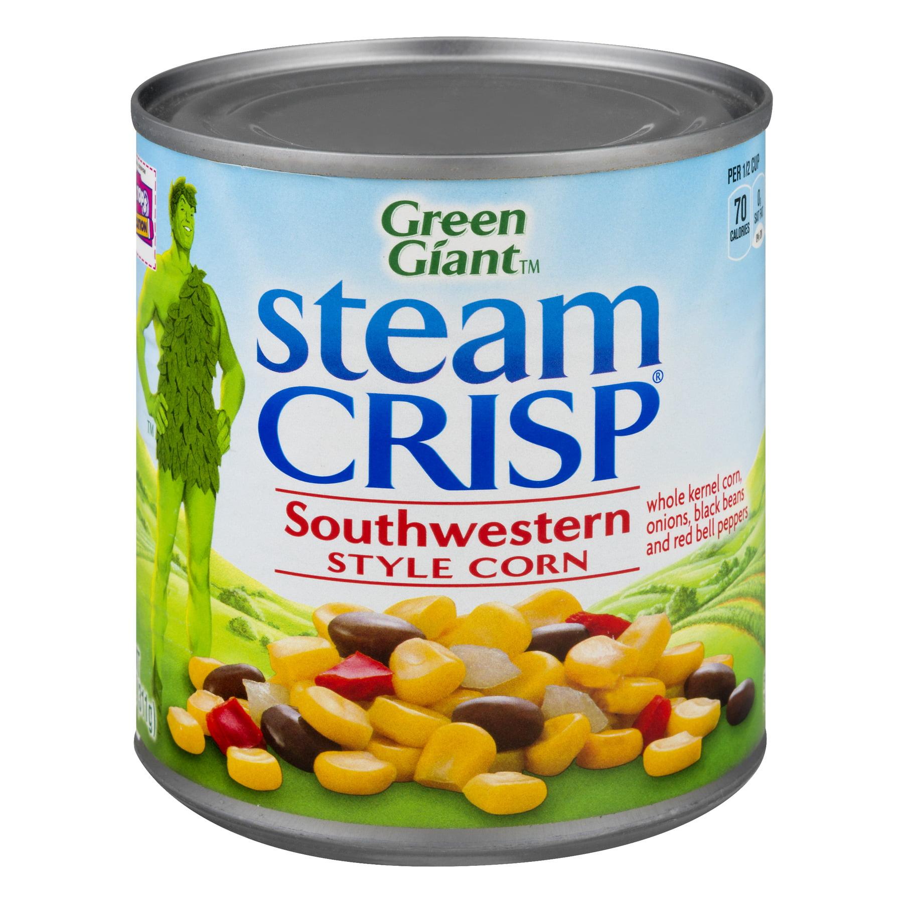 Green Giant Steamcrisp Southwestern Style Corn, 11 Oz