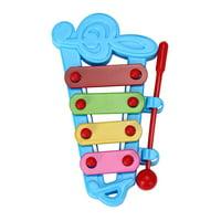 matoen Baby Kid 4-Note Xylophone Musical Toys Wisdom Development BU