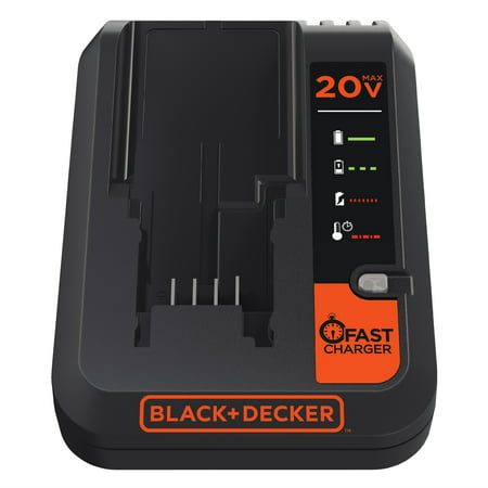 BLACK+DECKER Lithium-Ion Battery Fast Charger, BDCAC202B