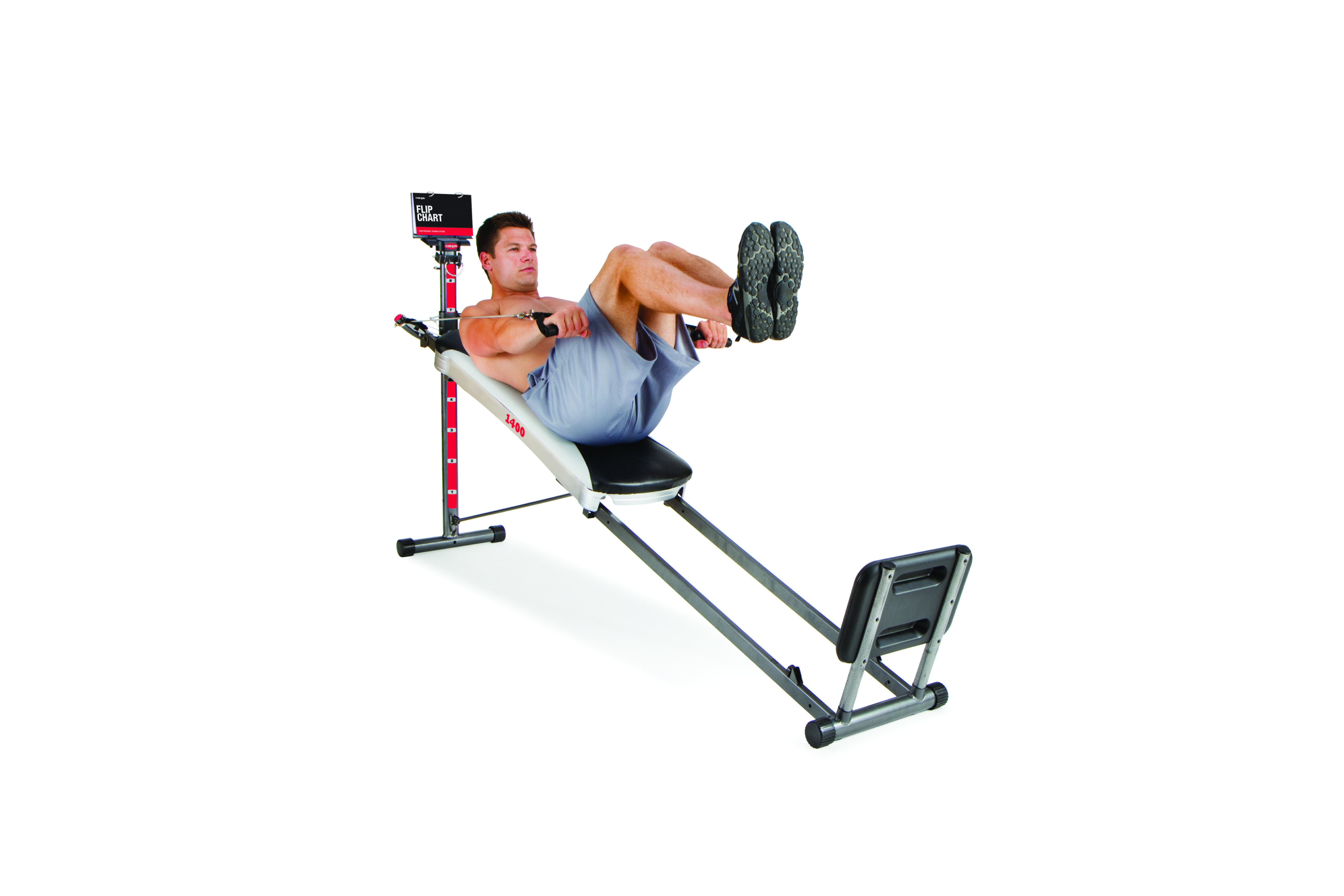 Total Gym 1400 Total Home Gym with Workout DVD - Full Body