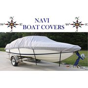 NAVI 17' - 19' GRAY MARINE CANVAS SKI - FISHING BOAT COVER
