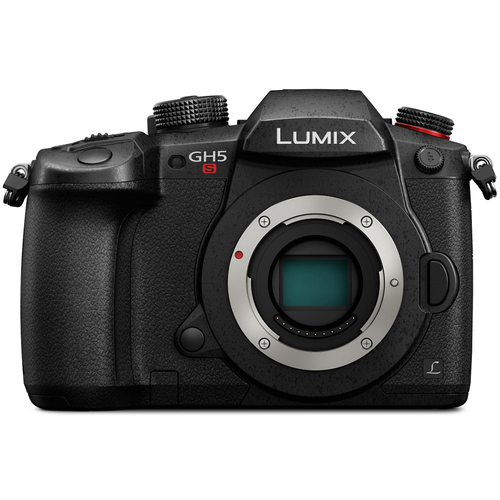 Panasonic LUMIX GH5S 10.2MP C4K Mirrorless ILC Camera (Body Only), Wi-Fi + Bluetooth by Panasonic