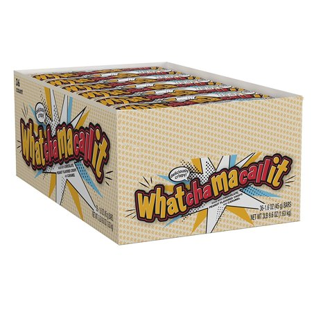 Candy Bar- 36 / Box, When your hunger calls for chewy caramel, rich chocolate and peanut flavor, grab a WHATCHAMACALLIT Candy Bar. By Whatchamacallit - Candy For Sale