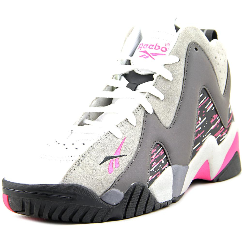 Reebok Kamikaze II Mid Men  Round Toe Leather  Basketball Shoe