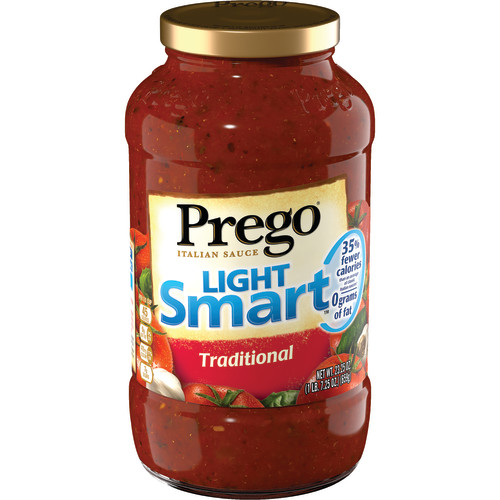 Prego Lower Calorie Traditional Italian Sauce, 23.5 oz
