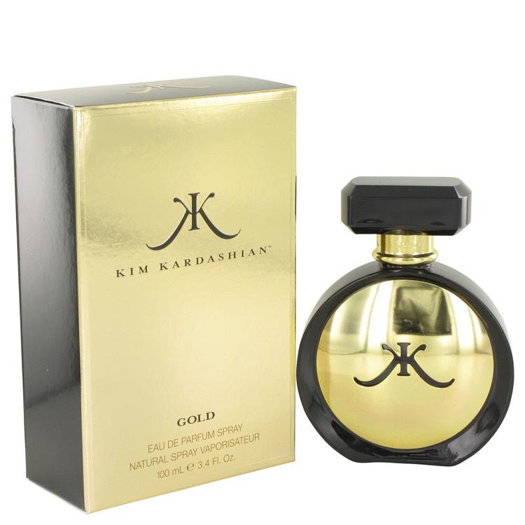 Kim Kardashian Kim Kardashian Gold Eau De Parfum Spray for Women 3.4 oz