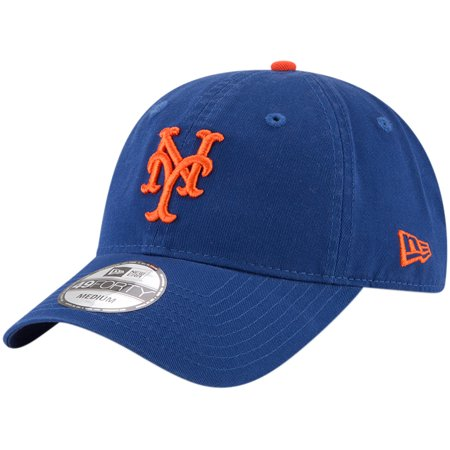 5b9583b6283 New York Mets New Era Core Fit Replica 49FORTY Fitted Hat - Royal -  Walmart.com