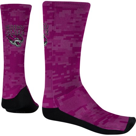 Chico California Halloween (Men's California State University Chico Digital Sublimated Socks)