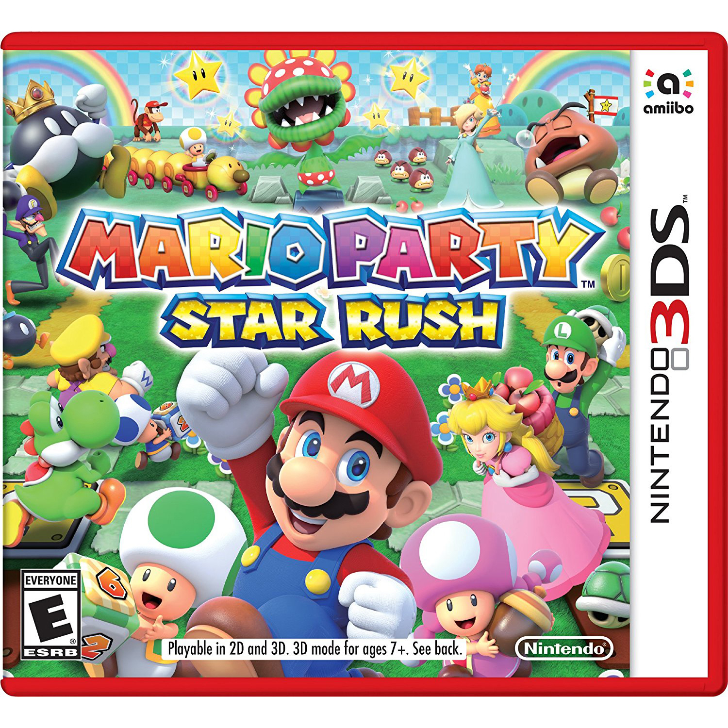 Mario Party: Star Rush, Nintendo, Nintendo 3DS, [Digital Download], 0004549668130