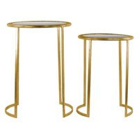 Urban Trends Collection: Metal Table, Metallic Finish, Gold
