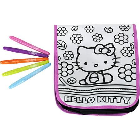 Hello Kitty Doodle Messenger Bag - Walmart.com b28117219ddbc