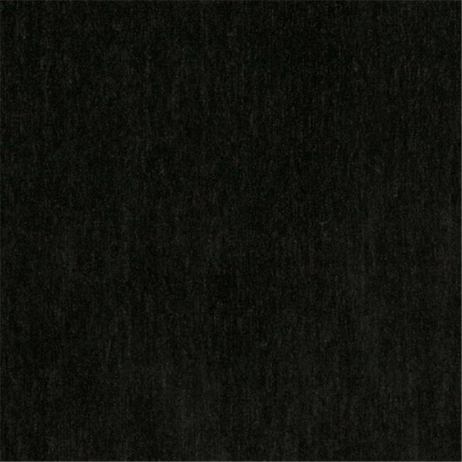 Designer Fabrics D783 54 in. Wide Black, Chenille Commercial, Residential And Church Pew Upholstery Fabric