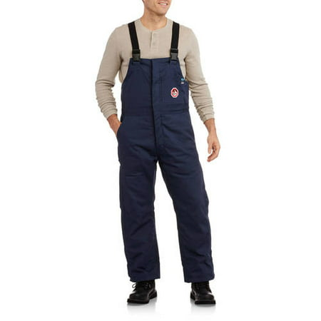 Men's HRC Level 2 Flame Resistant Insulated Bib - Indura Flame Resistant Coverall