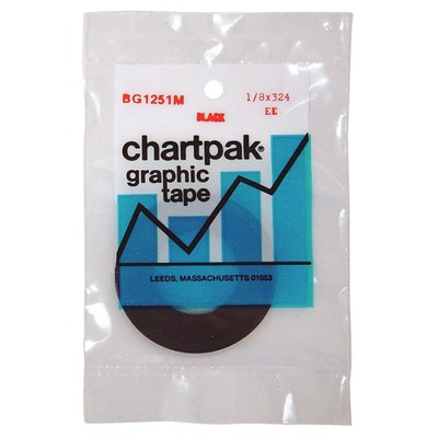 Chartpak Matte Graphic Tape CHABG1251M