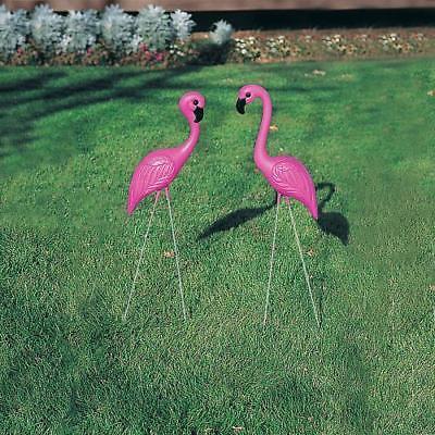IN-26/404 Pink Flamingo Yard Ornaments 1 - Flamingo Yard Ornament