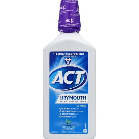 ACT® Dry Mouth Alcohol Free Rinse, 33.8oz