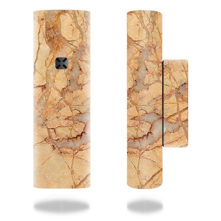 MightySkins Skin for Ploom Pax 2 or Pax 3 Vaporizer - Amber Marble   Protective, Durable, and Unique Vinyl Decal wrap cover   Easy To Apply, Remove, and Change Styles   Made in the