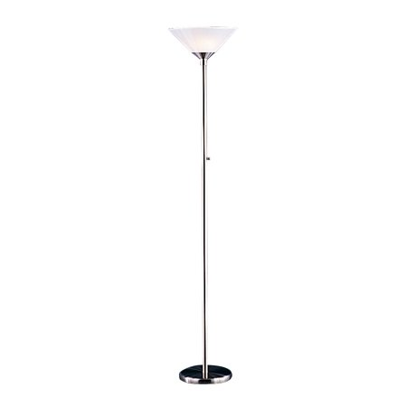 Aries Torchiere - Adesso, Inc. 7500 2 Light Aries Torchiere Floor Lamp
