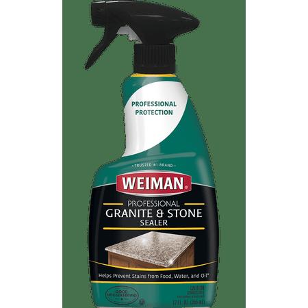 - (2 pack) Weiman Granite Sealer, 12 oz