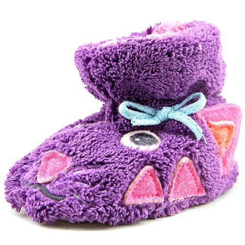 Acorn Easy Critter Kitty Infant US 18-24 Months Purple Slipper