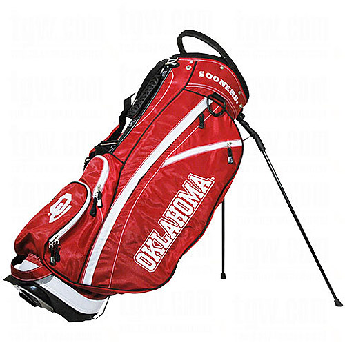 Team Golf NCAA Oklahoma Fairway Golf Stand Bag