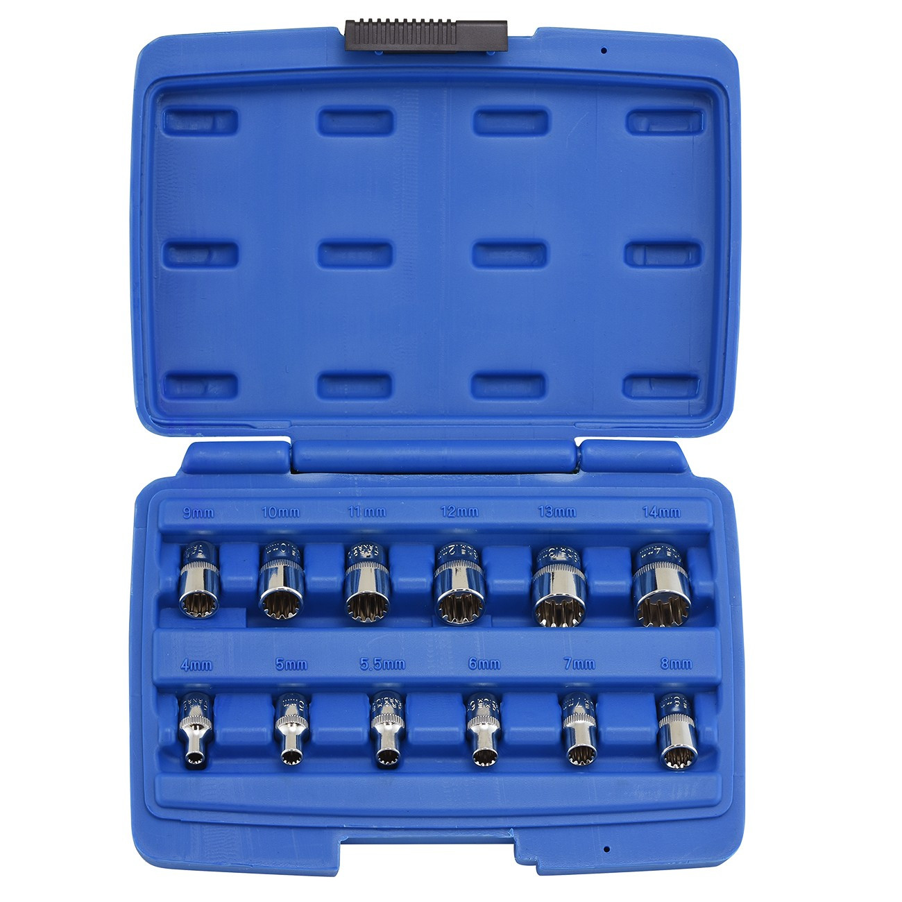 "1/2"" Drive Socket Wrench Set for Rounded Damaged Bolts Nuts"