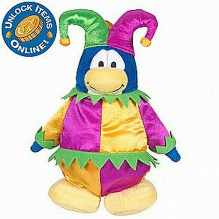 Disney Club Penguin Court Jester Stuffed Animal Series 3 Collectible Figure Disney Club Penguin Series