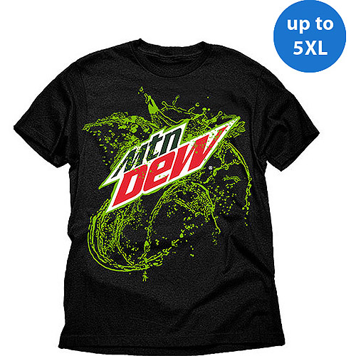 Mountain Splash Dew Big Men's Graphic Tee